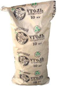 мешок древесного угля 10 кг