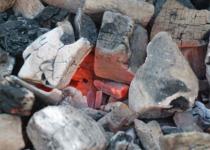 горение древесного угля