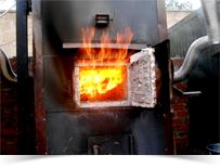 печь для пиролиза