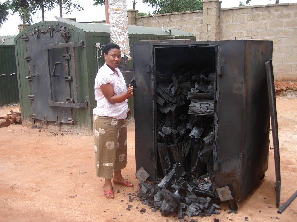 способ производства древесного угля