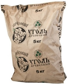мешок древесного угля 5 кг